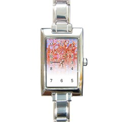 Effect Isolated Graphic Rectangle Italian Charm Watch