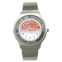Effect Isolated Graphic Stainless Steel Watch by Nexatart