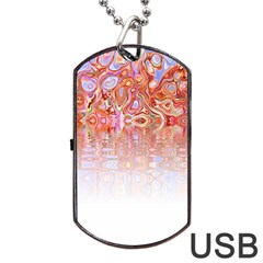 Effect Isolated Graphic Dog Tag Usb Flash (two Sides) by Nexatart