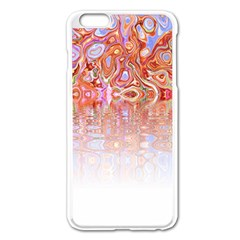 Effect Isolated Graphic Apple Iphone 6 Plus/6s Plus Enamel White Case by Nexatart