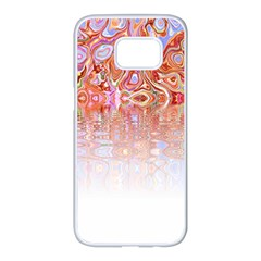 Effect Isolated Graphic Samsung Galaxy S7 Edge White Seamless Case