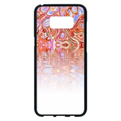 Effect Isolated Graphic Samsung Galaxy S8 Plus Black Seamless Case by Nexatart