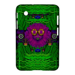 Summer Flower Girl With Pandas Dancing In The Green Samsung Galaxy Tab 2 (7 ) P3100 Hardshell Case  by pepitasart