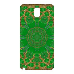 Summer Landscape In Green And Gold Samsung Galaxy Note 3 N9005 Hardshell Back Case by pepitasart