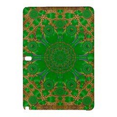 Summer Landscape In Green And Gold Samsung Galaxy Tab Pro 12 2 Hardshell Case by pepitasart
