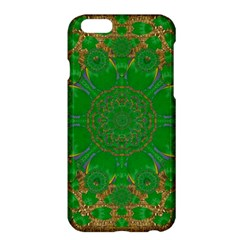 Summer Landscape In Green And Gold Apple iPhone 6 Plus/6S Plus Hardshell Case