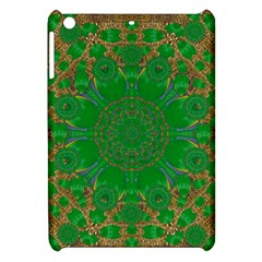 Summer Landscape In Green And Gold Apple Ipad Mini Hardshell Case by pepitasart