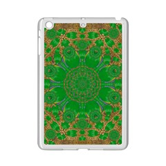 Summer Landscape In Green And Gold Ipad Mini 2 Enamel Coated Cases by pepitasart