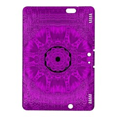 Purple Mandala Fashion Kindle Fire HDX 8.9  Hardshell Case by pepitasart
