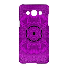 Purple Mandala Fashion Samsung Galaxy A5 Hardshell Case  by pepitasart
