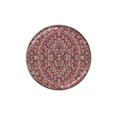 Mandala Art Paintings Collage Hat Clip Ball Marker (4 Pack) by pepitasart