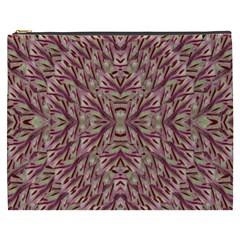 Mandala Art Paintings Collage Cosmetic Bag (xxxl)  by pepitasart