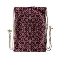 Mandala Art Paintings Collage Drawstring Bag (small) by pepitasart