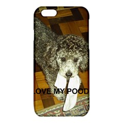 Poodle Love W Pic Silver iPhone 6/6S TPU Case