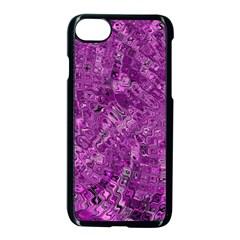 Melting Swirl B Apple Iphone 7 Seamless Case (black) by MoreColorsinLife