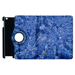 Melting Swirl C Apple Ipad 3/4 Flip 360 Case by MoreColorsinLife