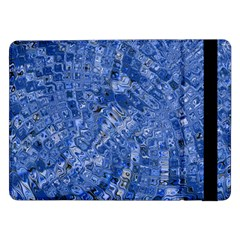Melting Swirl C Samsung Galaxy Tab Pro 12 2  Flip Case by MoreColorsinLife