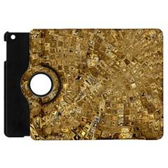 Melting Swirl E Apple Ipad Mini Flip 360 Case by MoreColorsinLife