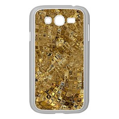 Melting Swirl E Samsung Galaxy Grand Duos I9082 Case (white) by MoreColorsinLife