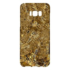 Melting Swirl E Samsung Galaxy S8 Plus Hardshell Case