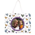 Love Hearts - Large Tote Bag