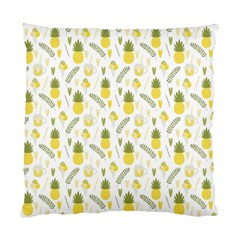 Pineapple Fruit And Juice Patterns Standard Cushion Case (one Side) by TastefulDesigns
