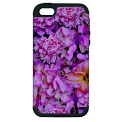 Wonderful Floral 24 Apple Iphone 5 Hardshell Case (pc+silicone)