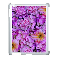 Wonderful Floral 24 Apple Ipad 3/4 Case (white) by MoreColorsinLife