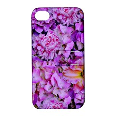 Wonderful Floral 24 Apple Iphone 4/4s Hardshell Case With Stand