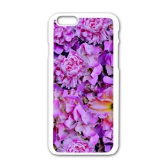 Wonderful Floral 24 Apple Iphone 6/6s White Enamel Case by MoreColorsinLife