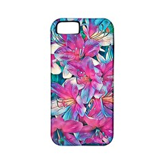 Wonderful Floral 25a Apple Iphone 5 Classic Hardshell Case (pc+silicone) by MoreColorsinLife