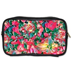Wonderful Floral 24b Toiletries Bags 2 Side by MoreColorsinLife