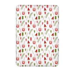 Watermelon Fruit Paterns Samsung Galaxy Tab 2 (10 1 ) P5100 Hardshell Case  by TastefulDesigns