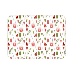 Watermelon Fruit Paterns Double Sided Flano Blanket (mini)  by TastefulDesigns