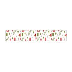 Watermelon Fruit Paterns Flano Scarf (mini) by TastefulDesigns