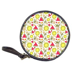Summer Fruits Pattern Classic 20 Cd Wallets