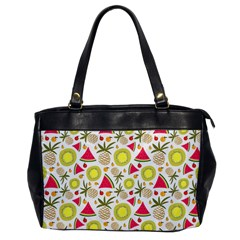 Summer Fruits Pattern Office Handbags by TastefulDesigns