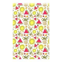 Summer Fruits Pattern Shower Curtain 48  X 72  (small)  by TastefulDesigns