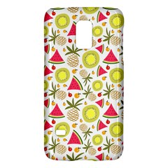 Summer Fruits Pattern Galaxy S5 Mini by TastefulDesigns