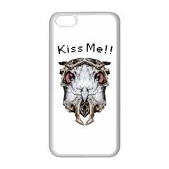 Funny Creepy Alien Headbones Small Apple Iphone 5c Seamless Case (white) by dflcprints