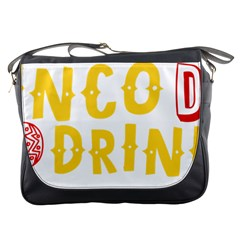 Cinco De Drinko Messenger Bags by CraftyLittleNodes