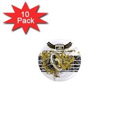 Andy Da Man 1  Mini Magnet (10 Pack)  by Acid909