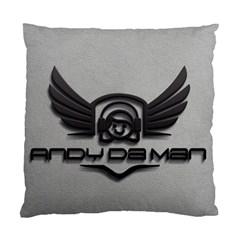 Andy Da Man 3d Grey Standard Cushion Case (two Sides) by Acid909