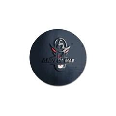 Andy Da Man 3d Dark Golf Ball Marker (4 Pack) by Acid909