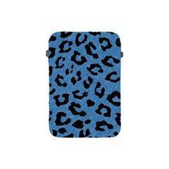 Skin1 Black Marble & Blue Colored Pencil Apple Ipad Mini Protective Soft Case by trendistuff