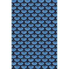 Scales3 Black Marble & Blue Colored Pencil (r) 5 5  X 8 5  Notebook by trendistuff