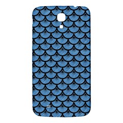 Scales3 Black Marble & Blue Colored Pencil (r) Samsung Galaxy Mega I9200 Hardshell Back Case by trendistuff