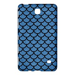 Scales1 Black Marble & Blue Colored Pencil (r) Samsung Galaxy Tab 4 (7 ) Hardshell Case  by trendistuff