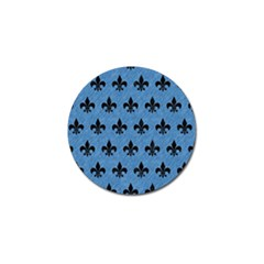 Royal1 Black Marble & Blue Colored Pencil Golf Ball Marker (10 Pack) by trendistuff