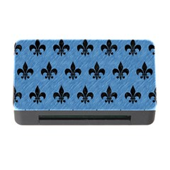 Royal1 Black Marble & Blue Colored Pencil Memory Card Reader With Cf by trendistuff